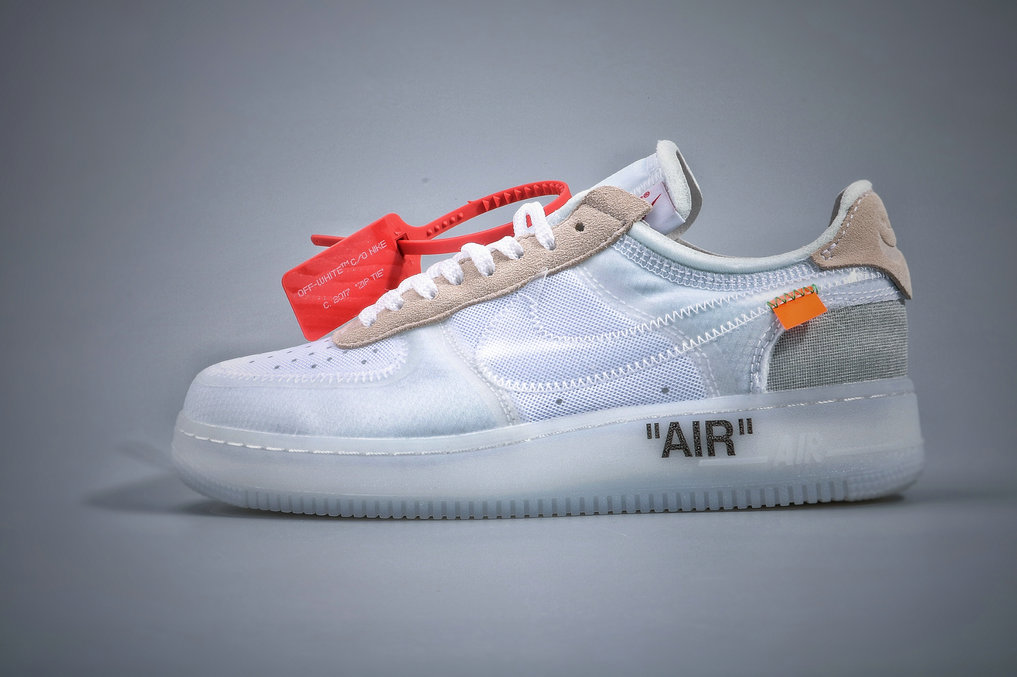 Where To Buy Cheap Nike Air Force 1 Low Off-White White-Sail AO4606-100 On VaporMaxRunning