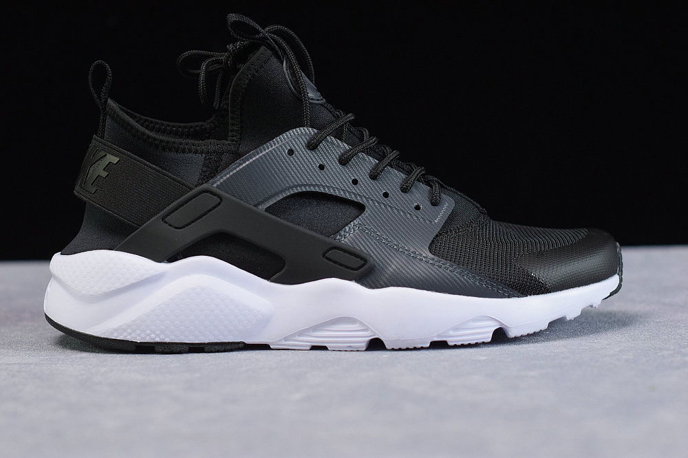 Where To Buy Cheap Nike Air Huarache Run Ultra Black Anthracite White Noir Blanc Anthracit BV0021-001 On VaporMaxRunning