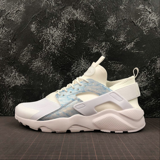 Where To Buy Cheap Nike Air Huarache Run Ultra White Royal Tint Blanc Teinte Royal Blanc 8475469-102 On VaporMaxRunning
