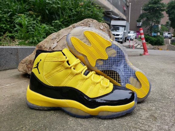 Where To Buy Cheap Nike Air Jordan 11 Retro Bumblebee On VaporMaxRunning