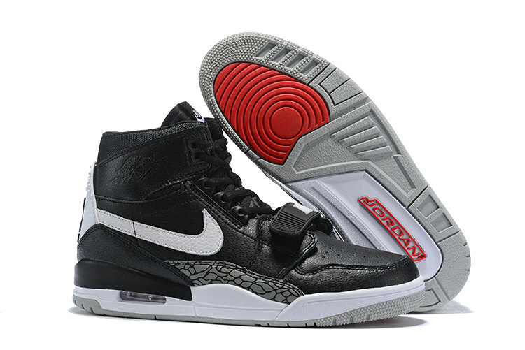 Where To Buy Cheap Nike Air Jordan Legacy 312 Black Varsity Red-Black-Cement Grey On VaporMaxRunning