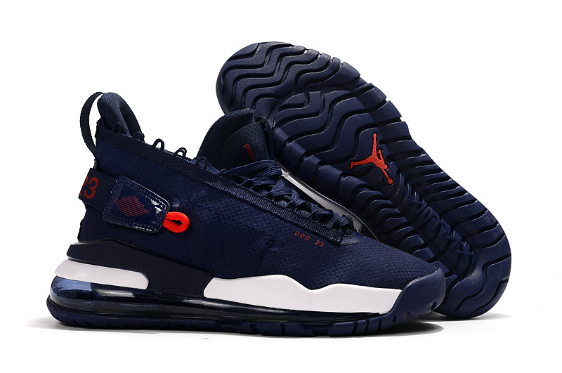 Where To Buy Cheap Nike Air Jordan Proto Max 720 Navy Blue Red White On VaporMaxRunning