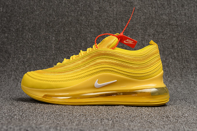 Where To Buy Cheap Nike Air Max 97 720 Triple Yellow On VaporMaxRunning