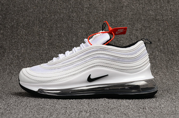 Where To Buy Cheap Nike Air Max 97 720 White Black On VaporMaxRunning