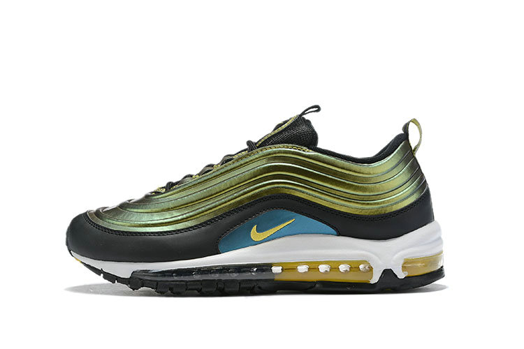 Where To Buy Cheap Nike Air Max 97 LX Olive Green Black White Gold On VaporMaxRunning
