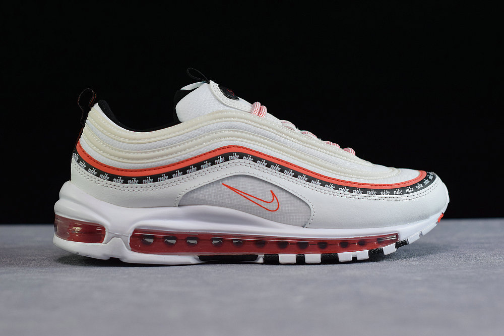 Where To Buy Cheap Nike Air Max 97 Oa White Habanero Black Red CQ4817-100 On VaporMaxRunning