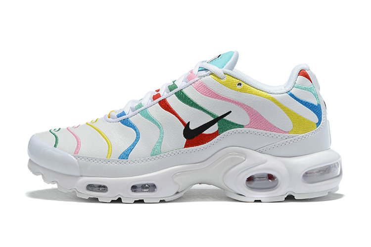 Where To Buy Cheap Nike Air Maxs Plus Multicolor White Unisex Running Shoes AQ5117-101 On VaporMaxRunning