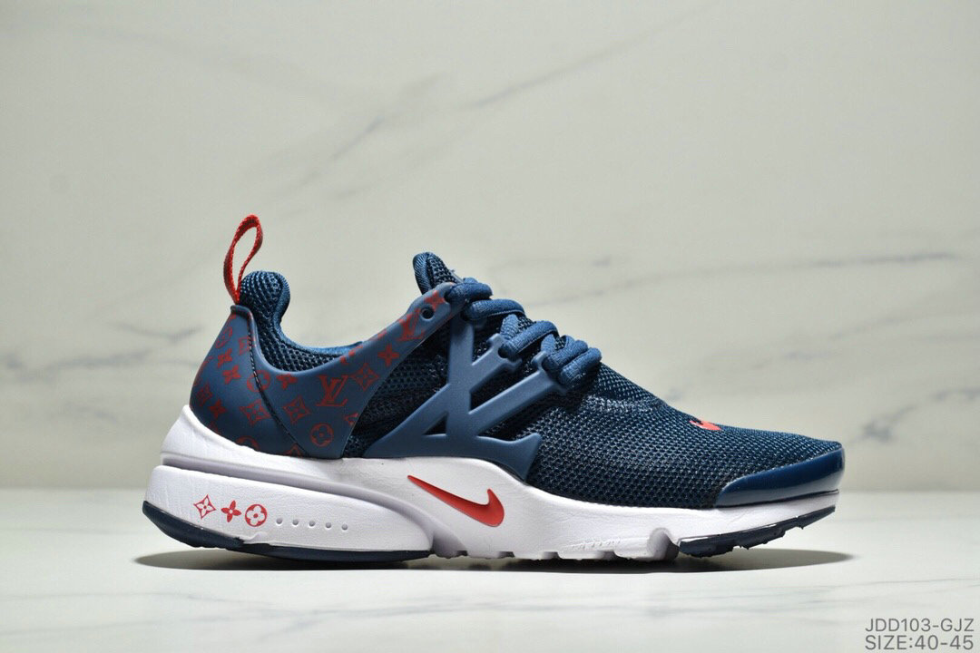 Where To Buy Cheap Nike Air Presto Flyknit Ultra Navy Blue Gym Red On VaporMaxRunning
