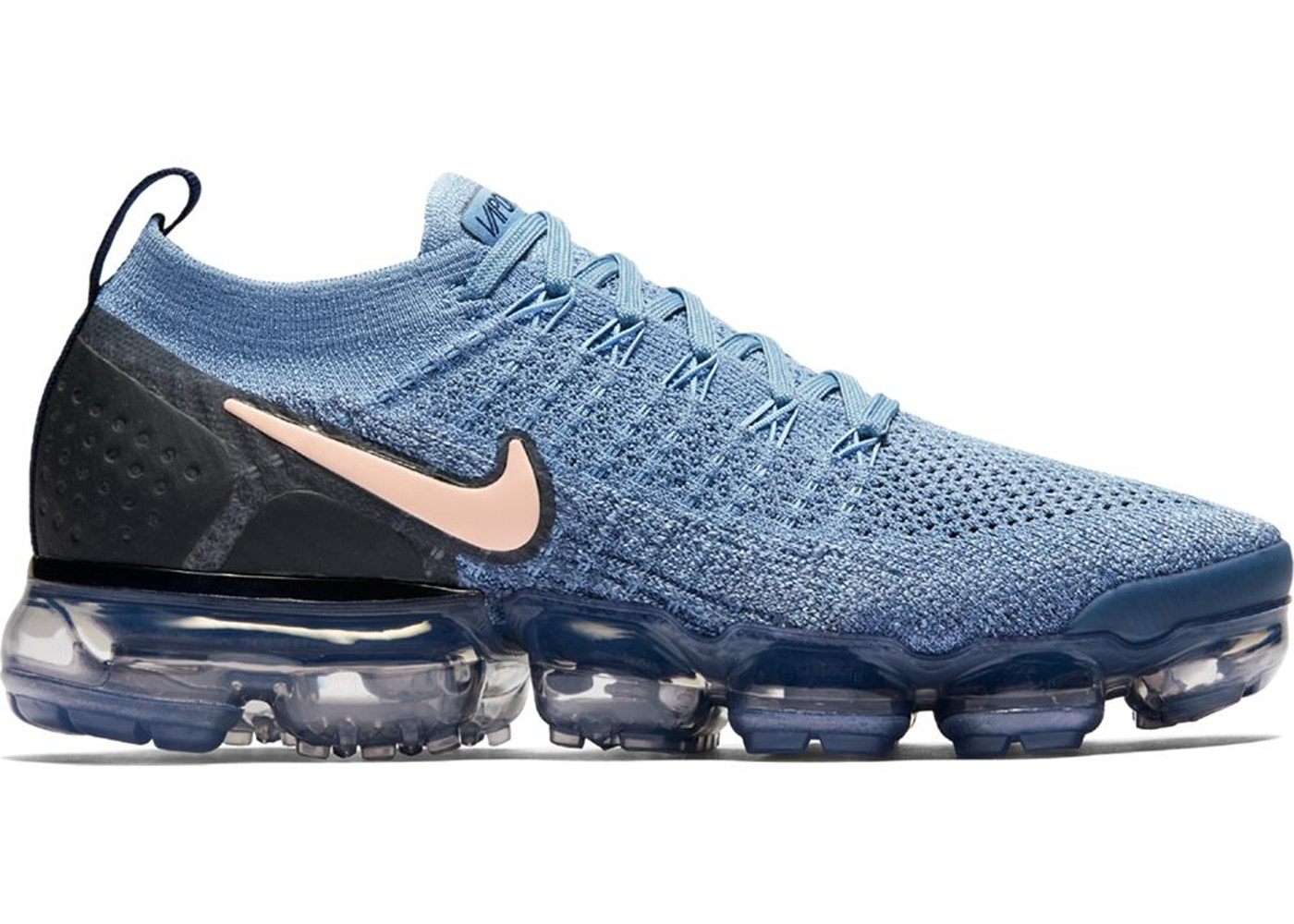 Where To Buy Cheap Nike Air VaporMax 2.0 Work Blue Diffused Blue-Blackened Blue-Crimson Tint 942843-401 On VaporMaxRunning