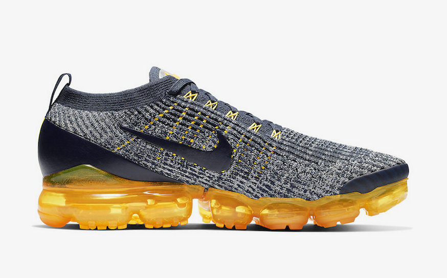 Where To Buy Cheap Nike Air VaporMax 3.0 College Navy Wolf Grey-Laser Orange-Aluminum-Metallic Silver AJ6900-400 On VaporMaxRunning