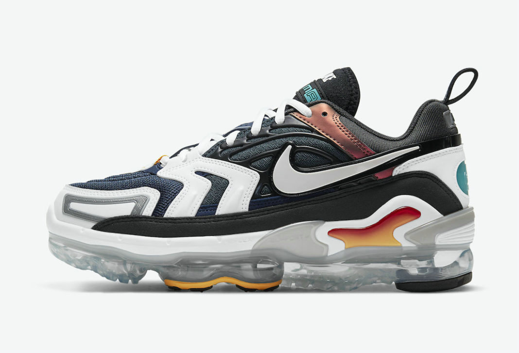 Where To Buy Cheap Nike Air VaporMax EVO Evolution of Icons Anthracite Tech Grey-White-Midnight Navy CT2868-001 On VaporMaxRunning