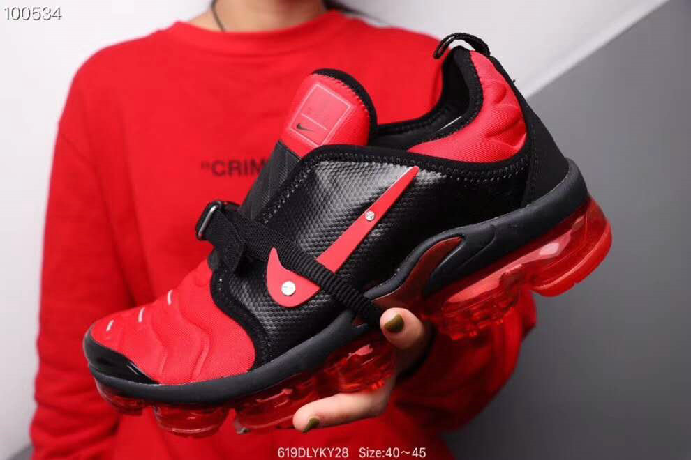 Where To Buy Cheap Nike Air VaporMax Plus MOC Gym Red Black On VaporMaxRunning