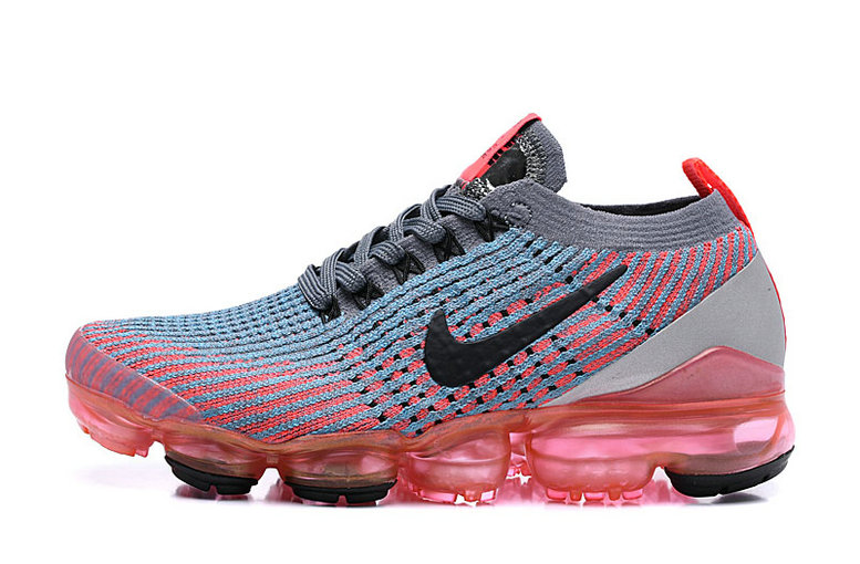 Where To Buy Cheap Nike Air Vapormax 3.0 Flash Crimson Black-Cool Grey-Blue Fury AJ6900-601 On VaporMaxRunning