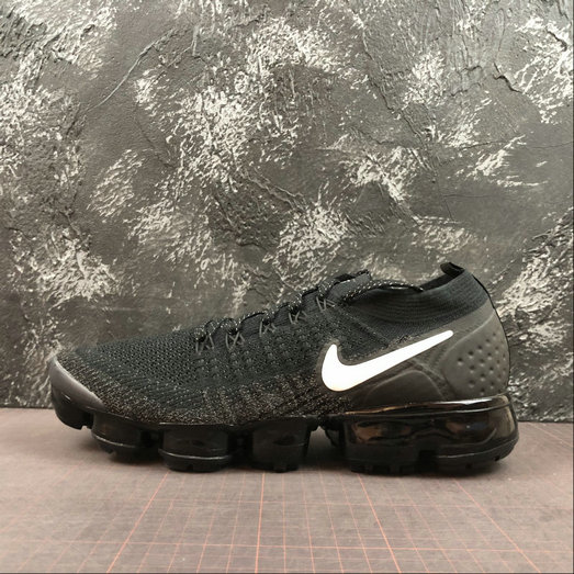 Where To Buy Cheap Nike Air Vapormax Flyknit 2.0 Black White Static Noir Blanc AA3831-101 On VaporMaxRunning