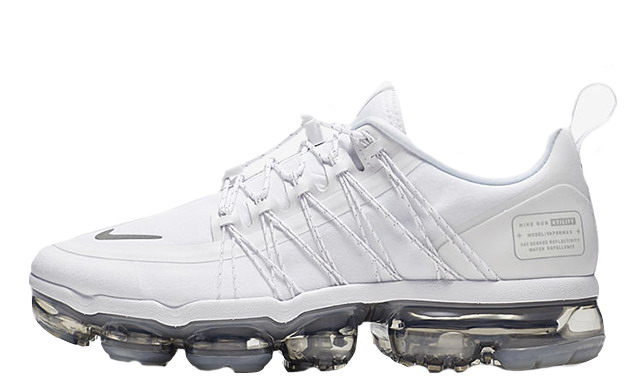 Where To Buy Cheap Nike Air Vapormax Run Utility White Reflect Silver-White-White AQ8811-100 On VaporMaxRunning