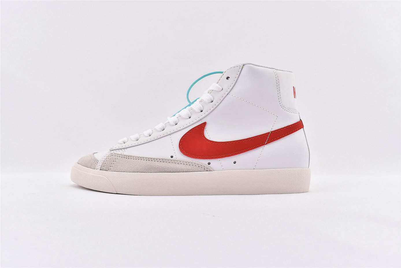 Where To Buy Cheap Nike Blazer Mid 77 VNTG Habanero Red Sail - White BQ6806-600 On VaporMaxRunning