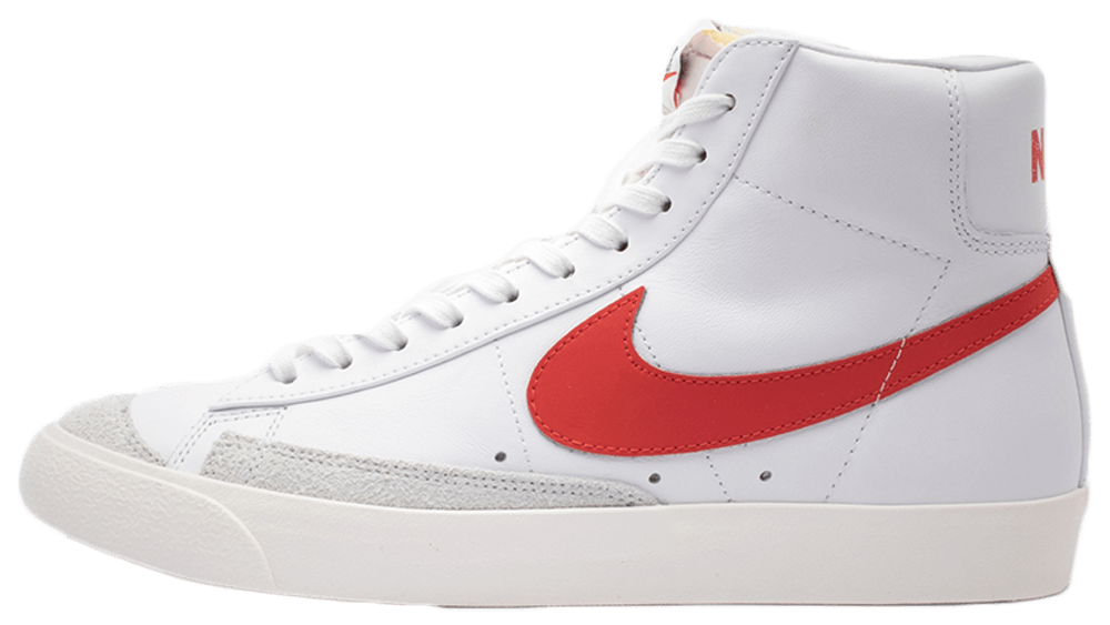 Where To Buy Cheap Nike Blazer Mid 77 Vintage White Red BQ6806-600 On VaporMaxRunning