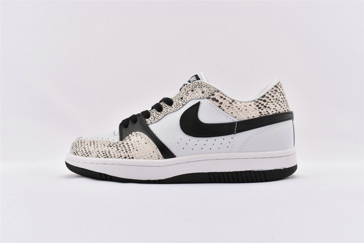 Where To Buy Cheap Nike Court Force Low White Black-Cocoa 314191 101 On VaporMaxRunning