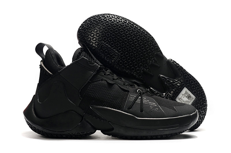Where To Buy Cheap Nike Jordan Why Not Zer0.2 Triple Black-Black On VaporMaxRunning