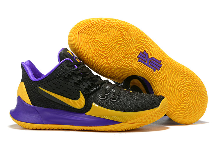Where To Buy Cheap Nike Kyrie 2 Low Black Purple Yellow On VaporMaxRunning