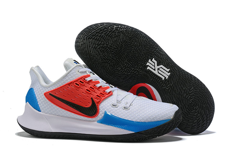 Where To Buy Cheap Nike Kyrie 2 Low Red Black White Blue On VaporMaxRunning