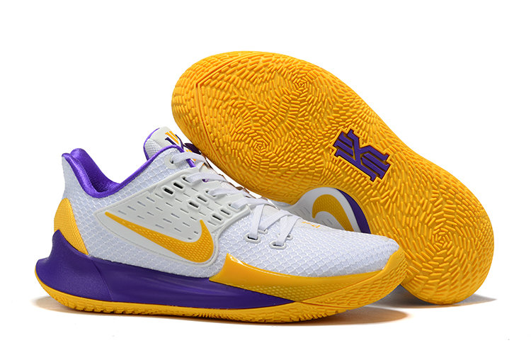 Where To Buy Cheap Nike Kyrie 2 Low Yellow White Purple On VaporMaxRunning