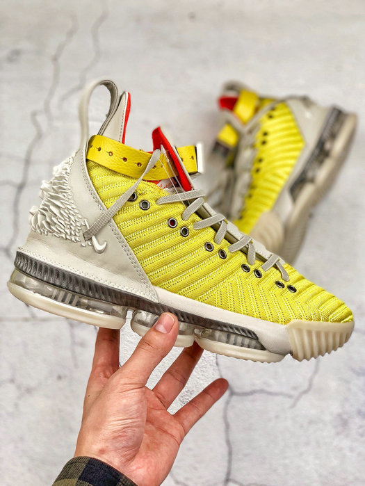Where To Buy Cheap Nike LeBron 16 Harlem Fashion Row Harlem Stage Bright Citron Summit White CI1144-700 On VaporMaxRunning