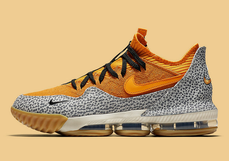 Where To Buy Cheap Nike LeBron 16 Low Safari Kumquat-Kumquat-Black CI3358-800 On VaporMaxRunning