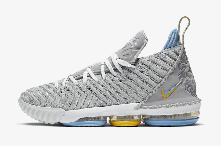 Where To Buy Cheap Nike LeBron 16 MPLS Wolf Grey White-University Blue CK4765-001 On VaporMaxRunning