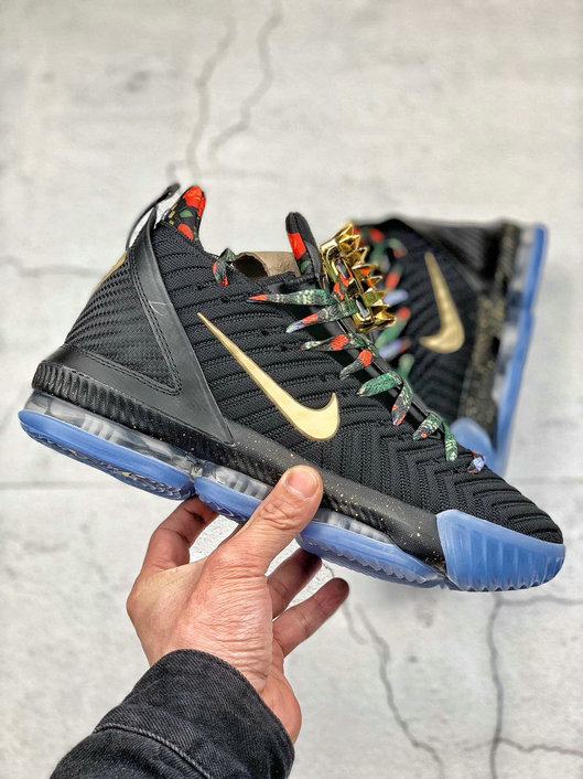 Where To Buy Cheap Nike LeBron James XVI EP Black Metallic Gold Rose Frost Noir Rose Gkace Or Metallique CI1517-001 On VaporMaxRunning