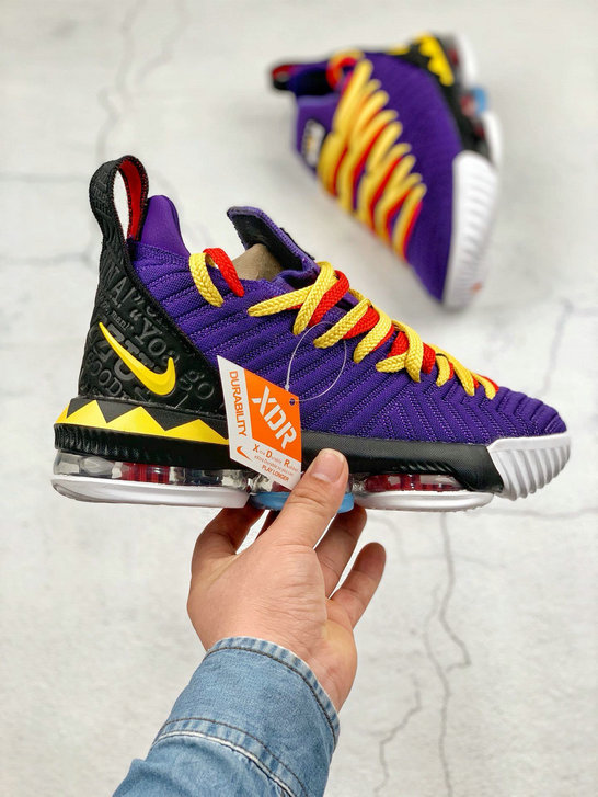 Where To Buy Cheap Nike LeBron XVI EP Court Purple Tour Yellow Violet Court Jaune Tour CI1520-500 On VaporMaxRunning