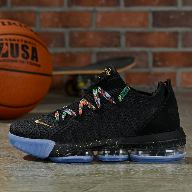 Where To Buy Cheap Nike Lebron 16 Low Black Multi-Color On VaporMaxRunning
