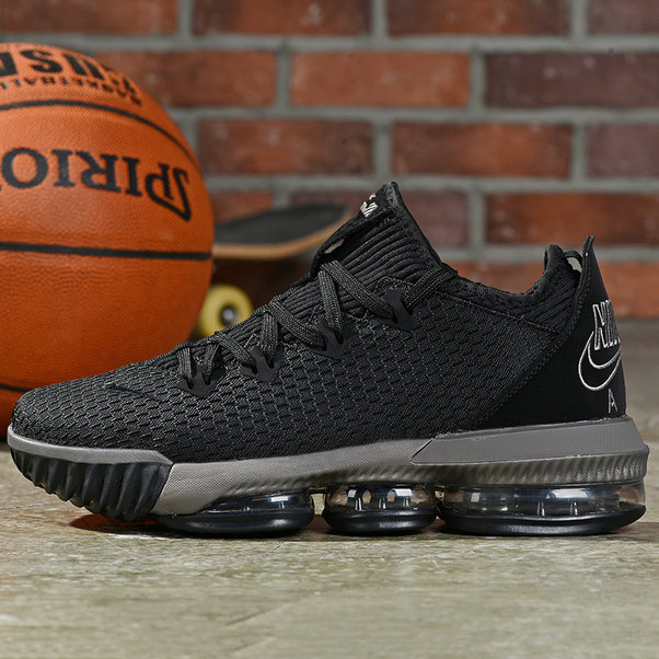 Where To Buy Cheap Nike Lebron 16 Low Ghost Black On VaporMaxRunning