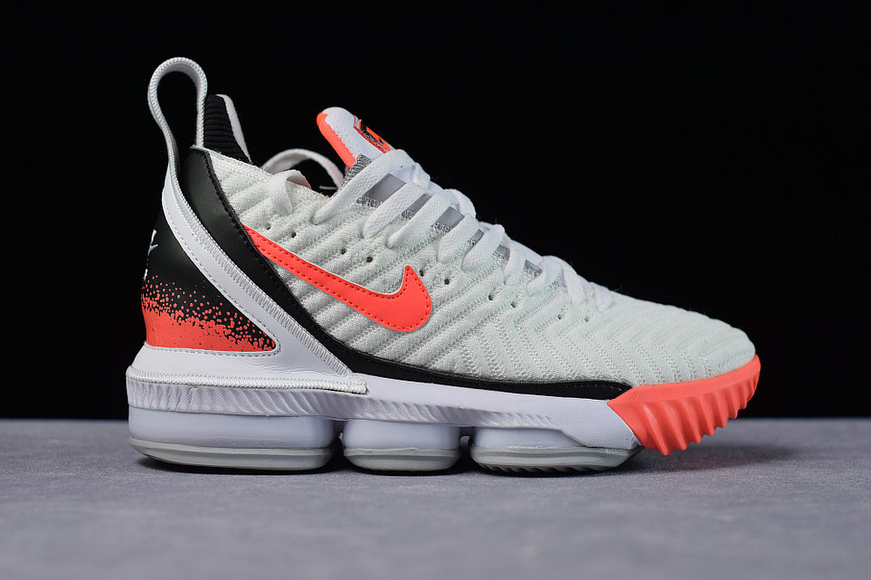 Where To Buy Cheap Nike Lebron XVI Hot Lava CL1522-100 On VaporMaxRunning