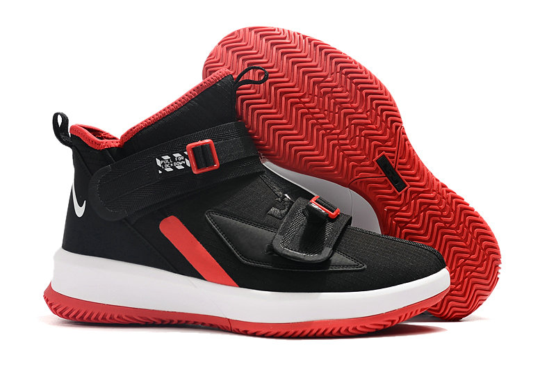 Where To Buy Cheap Nike Lebrons Soldier 13 Rouge Red Black White On VaporMaxRunning