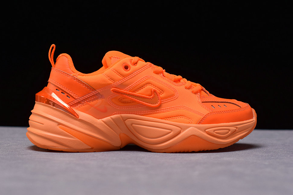 Where To Buy Cheap Nike M2K Tekno PVC VOLT Total Orange CI5749-888 On VaporMaxRunning