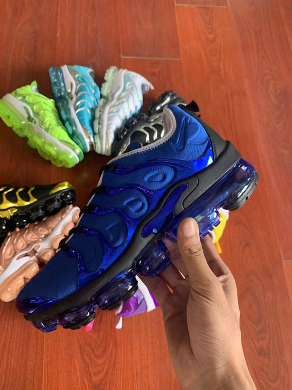 Where To Buy Cheap Nike VaporMax Plus TN Blue Black On VaporMaxRunning