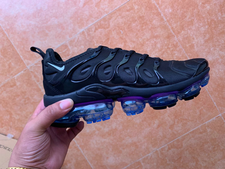 Where To Buy Cheap Nike VaporMaxs Plus Black Purple On VaporMaxRunning