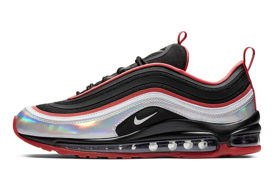 Where To Buy Cheap Nike WMNS Air Max 97 Ultra 17 Silver Iridescent Mudguards BV6670-013 On VaporMaxRunning
