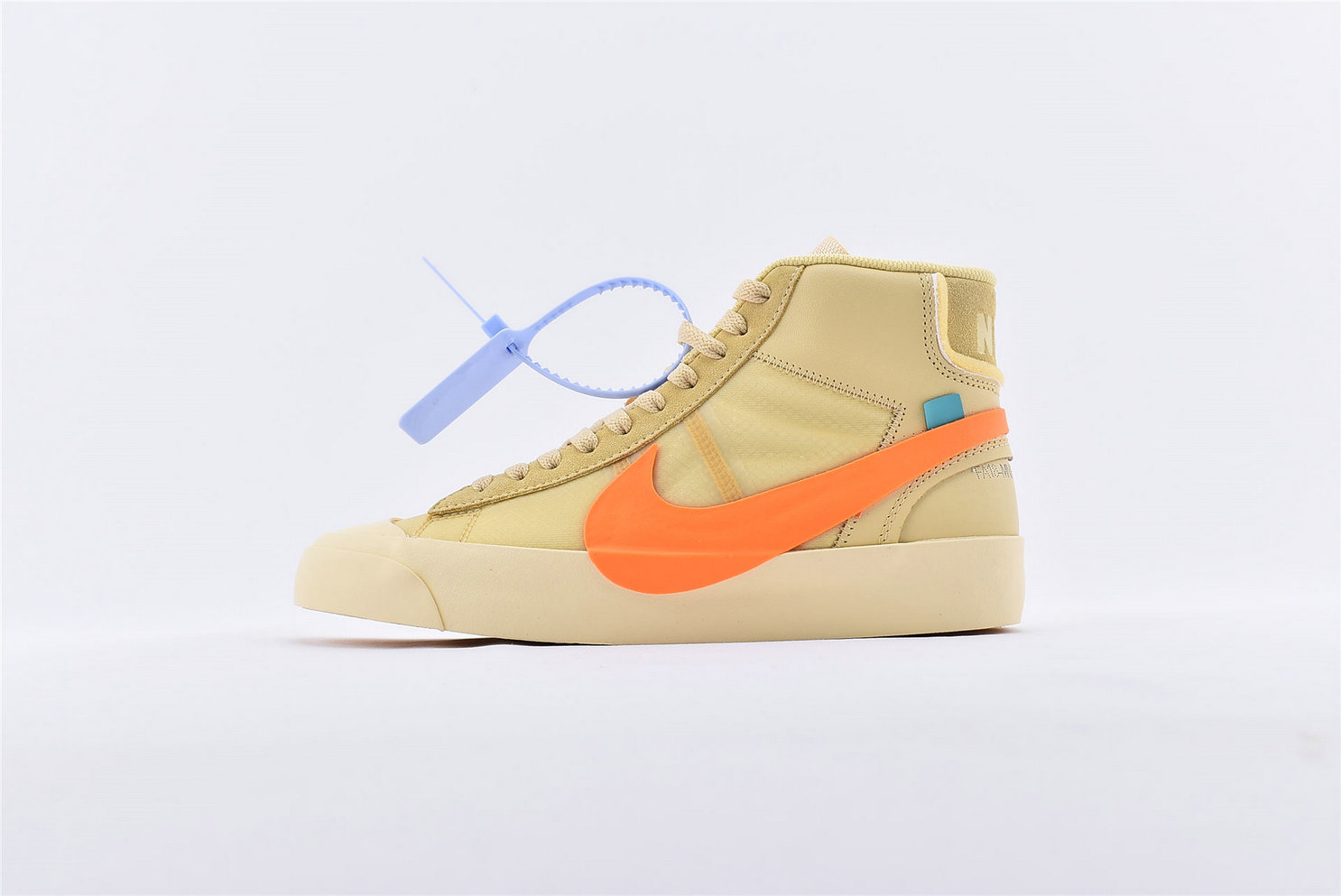 Where To Buy Cheap Off-White x Nike Blazer Orange SPOOKY PACK AA3832-700 On VaporMaxRunning