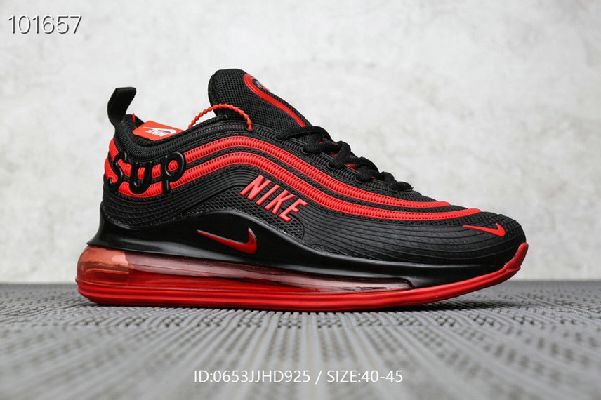 Where To Buy Cheap Supreme x Nike Air Max 97 True Red Black On VaporMaxRunning