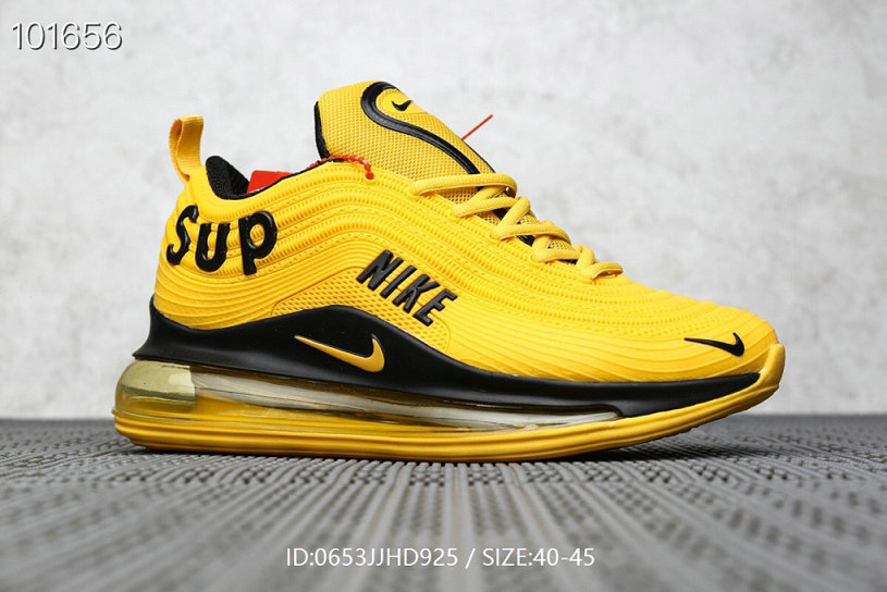 Where To Buy Cheap Supreme x Nike Air Max 97 Yellow Black On VaporMaxRunning