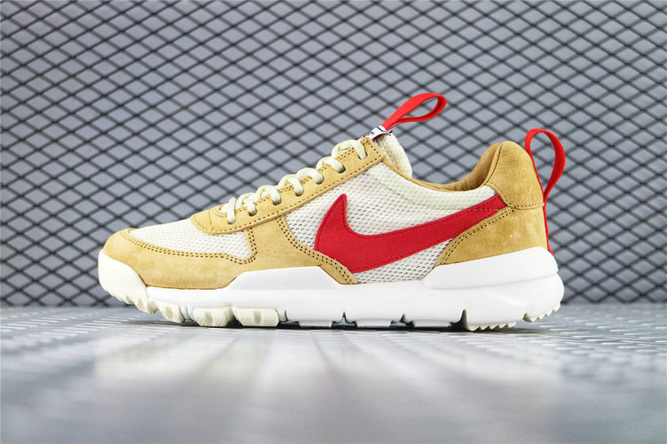 Where To Buy Cheap Tom Sachs x Nike Mars Yard 2.0 Toddler Natural Maple-Sport Red AA2261 100 On VaporMaxRunning