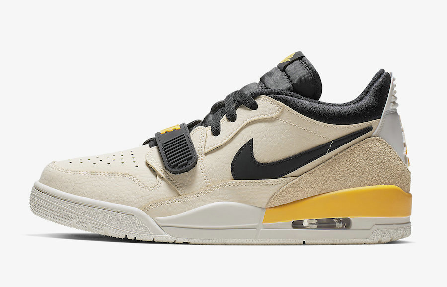 Where To Buy Womens 2019 Cheap Nike Air Jordan Legacy 312 Low Pale Vanilla University Gold CD7069-200 On VaporMaxRunning