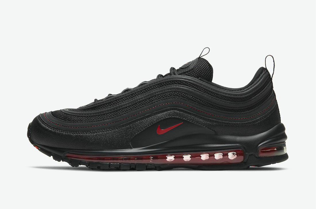 Where To Buy Womens 2021 Cheapest Nike Air Max 97 Reflective Black Red DH4092-001 On VaporMaxRunning