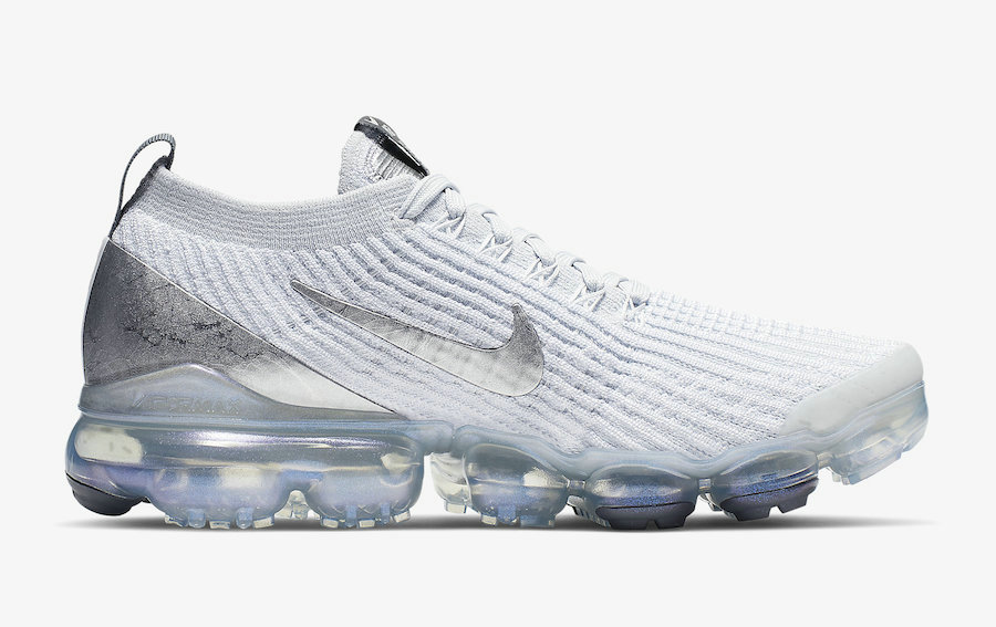 Where To Buy Womens Nike Air VaporMax Flyknit 3 White Silver AJ6910-101 On VaporMaxRunning