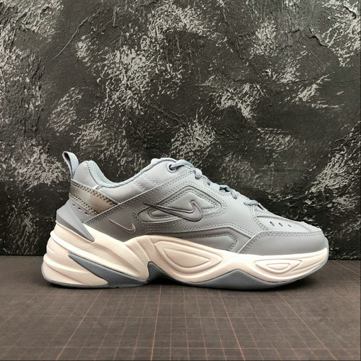 Where To Buy Womens Nike M2K Tekno Obsidian Mist Brume D AO3108-400 On VaporMaxRunning