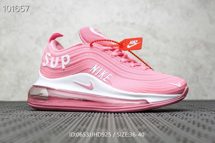 Where To Buy Womens Supreme x Nike Air Max 97 Pink White On VaporMaxRunning