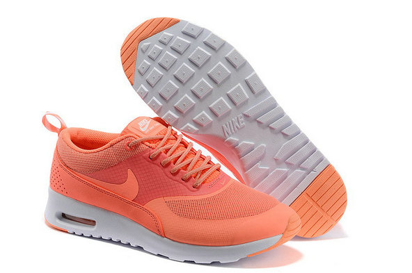 Women Nike Air Max Thea White Orange On VaporMaxRunning