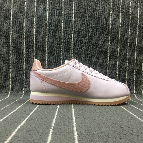 Womens 2019 Cheap NIKE CLASSIC CORTEZ LEATHER LUX BLACK WHITE NOIR BLANC 861660-660 On VaporMaxRunning